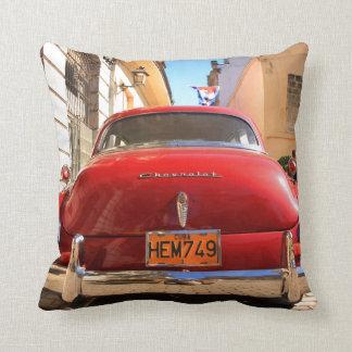 Chevrolet vermelho travesseiros