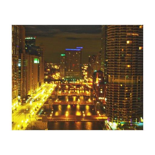 Chicago, 2010 impressão de canvas envolvidas