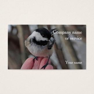 Chickadee Cartão De Visitas