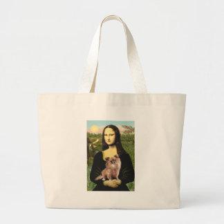 Chihuahua (LgHair-1) - Mona Lisa Bolsas