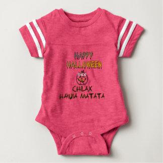 Chilax o Dia das Bruxas feliz Hakuna Matata Body Para Bebê