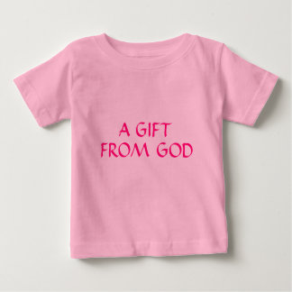 Childs um presente do t-shirt do deus