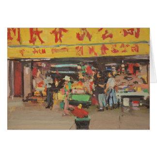 Chinatown New York 2012 Cartão