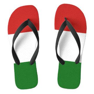 Chinelos A bandeira de Hungria