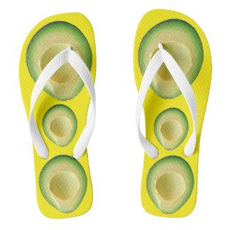 Chinelos Amarelo 4Tina da agitação do abacate