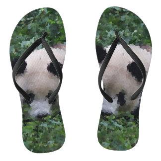 Chinelos Animais polis - panda
