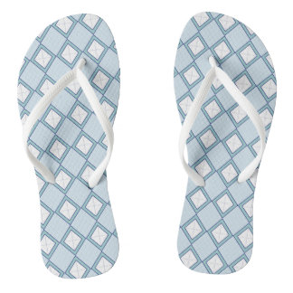 Chinelos Argyle/chinelos azul do diamante