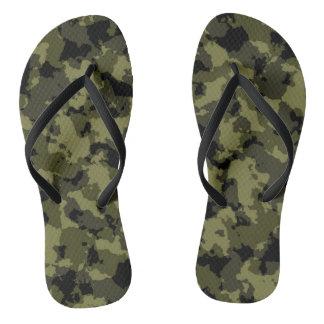 Chinelos As forças armadas da camuflagem denominam