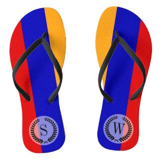 Chinelos Bandeira arménia