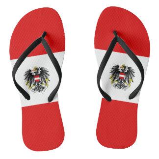 Chinelos Bandeira austríaca