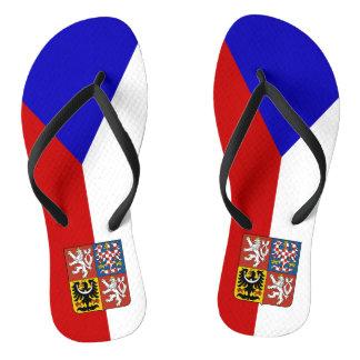 Chinelos Bandeira checa