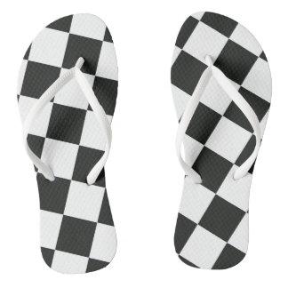 Chinelos Bandeira Checkered
