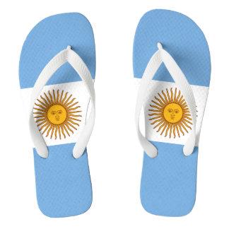 Chinelos Bandeira de Argentina