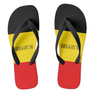 Chinelos Bandeira de Bélgica
