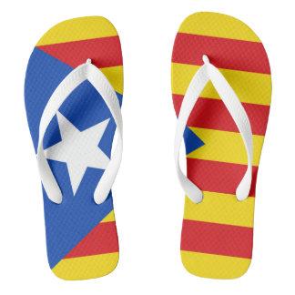 Chinelos Bandeira de Catalonia