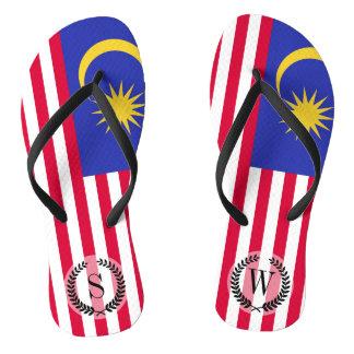 Chinelos Bandeira de Malaysia