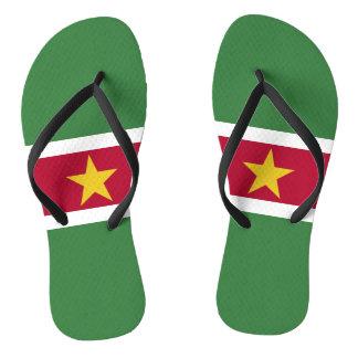 Chinelos Bandeira de Suriname