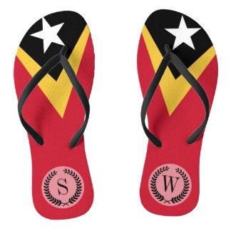 Chinelos Bandeira de Timor-Leste