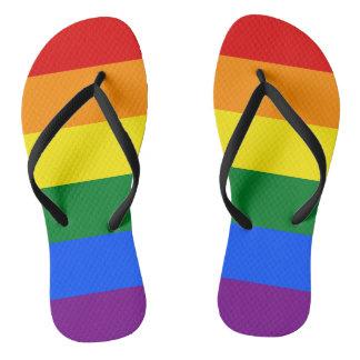 Chinelos Bandeira do arco-íris