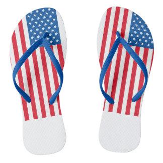 Chinelos Bandeira dos Estados Unidos da bandeira dos EUA