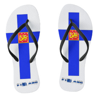 Chinelos Bandeira finlandesa