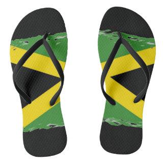 Chinelos Bandeira jamaicana