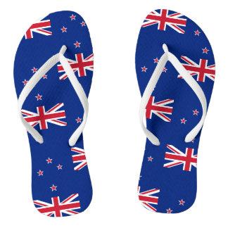 Chinelos Bandeira nacional de Nova Zelândia