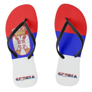Chinelos Bandeira sérvio