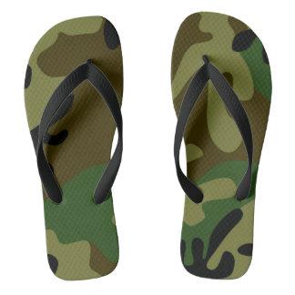 Chinelos Calçados da camuflagem