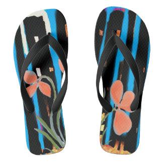 Chinelos Calçados florais do falhanço de sacudir de Caron