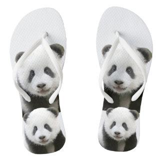 Chinelos Cara da panda