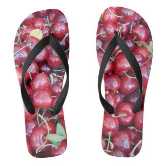 Chinelos Cerejas do verão