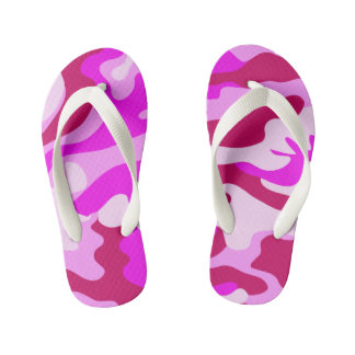 Chinelos cor-de-rosa de Camo