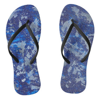 Chinelos Cosmos azul #3
