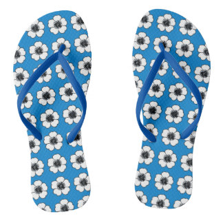 Chinelos Cottage-Flowers-Blue-Multi-Styles_Colors