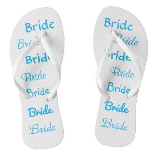 Chinelos da noiva para o casamento de praia