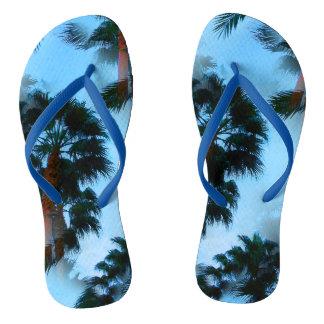 Chinelos da palmeira