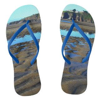Chinelos da praia de Bantham