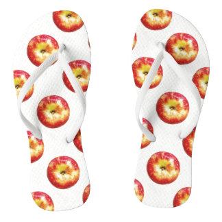 Chinelos das maçãs