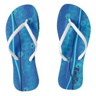 Chinelos Divertimento nos flip-flops do sol