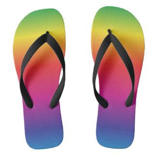 Chinelos do arco-íris
