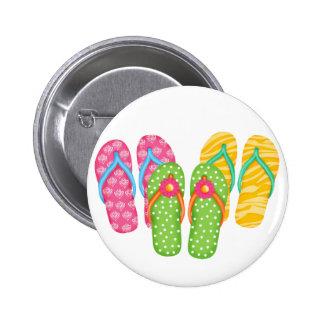 Chinelos do verão boton