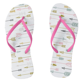 Chinelos Flip-flops coloridos bonitos para o desgaste