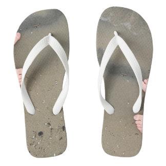 Chinelos Flip-flops da areia