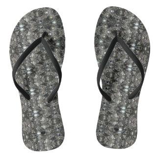Chinelos Flip-flops de HAMbyWG - diamantes
