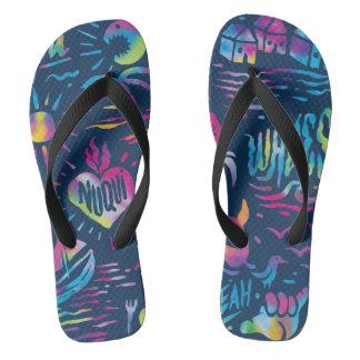 Chinelos Flip-flops de Nuquí