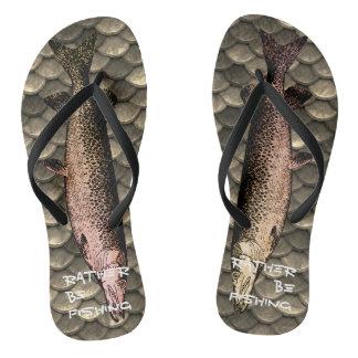 Chinelos Flip-flops do fundo da ilustração & da escala dos