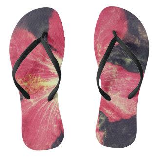 Chinelos Flip-flops do hibiscus