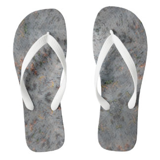 Chinelos Flip-flops do Sandy Beach do caleidoscópio