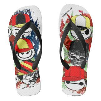 Chinelos Flip-flops dos amigos do grupo de LosMoyas